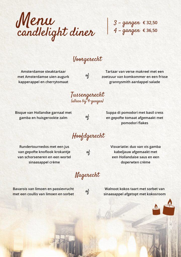 Candlelight-Diner-menu