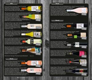 Wijnkaart - De Houtzagerij