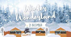 Winterwonderland op Resort De Wije Werelt en De Houtzagerij
